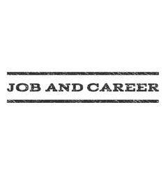 Job and career watermark stamp vector