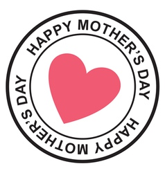 Mothers day postage stamp vector