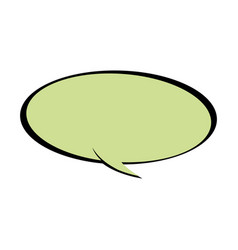 Speech bubble chat communicate comic vector