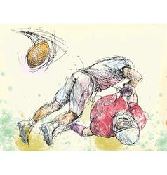 topic American Football vector image