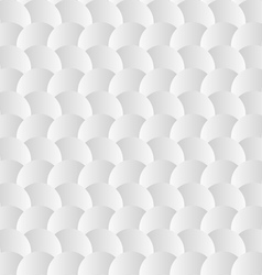 White background seamless pattern with paper vector image