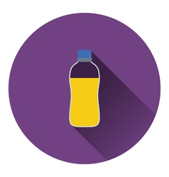 Sport bottle of drink icon vector