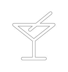 bar icon vector image
