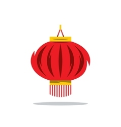 Chinese Red Lantern Cartoon vector image