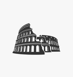 colosseum symbol vector image