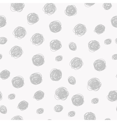 Seamless dot pattern background vector image