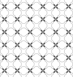 Delicate seamless pattern in arabic motif vector