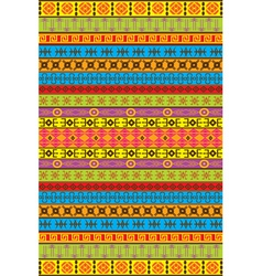 african patterns vector image vector image