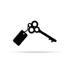 ancient key vector image