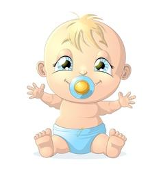 baby 1 vector image vector image