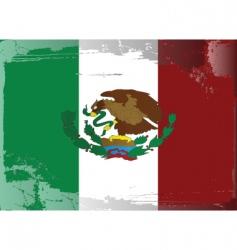 Mexico national flag vector