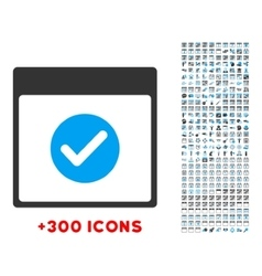 Ok day icon vector