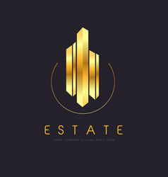 Realestate building vector