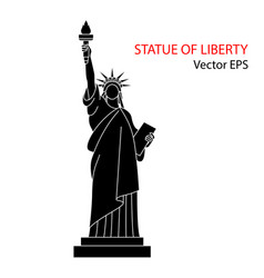 Statue of liberty new york vector