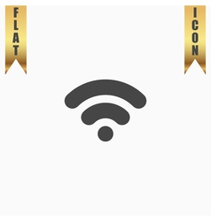 Wifi network internet zone icon vector