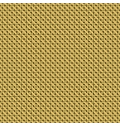 Woven canvas burlap seamless diagonal texture vector