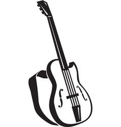 Acg00308 guitar vector