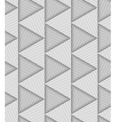 Abstract striped triangles geometric seamless vector