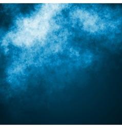 Blue dark sky vector