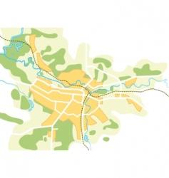 City map vector