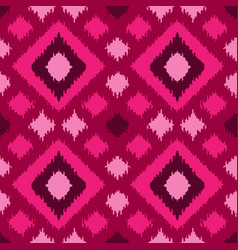 Ethnic squared seamless pattern vector