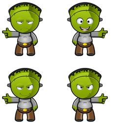 Monster Pointing vector image vector image