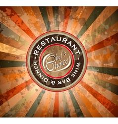 Retaurant Logo vector image