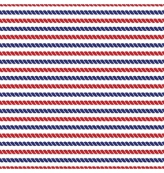Striped navy and red ropes bright seamless vector