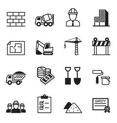 Construction icon set2 vector