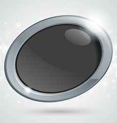 Button icon vector