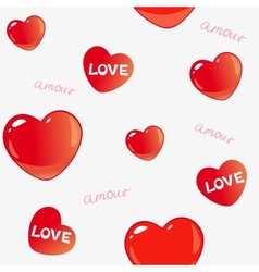 amor background vector image