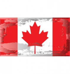 canada national flag vector image vector image