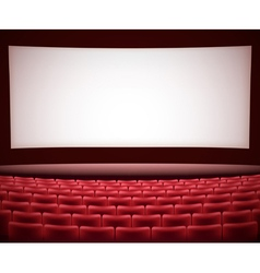 Cinema theater background vector