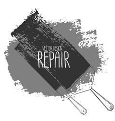 Graphic repair tools vector