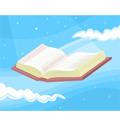 Great book vector image vector image