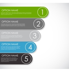 Infographic Templates for Business vector image