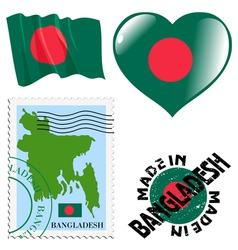 Colours of bangladesh vector