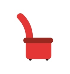 Arm chair icon vector