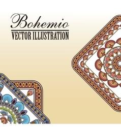 Bohemio icon design vector image vector image