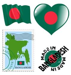 Colours of bangladesh vector