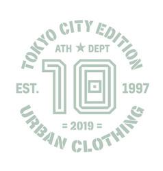Tokyo sport t-shirt design vector