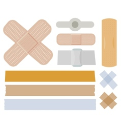 Bandages collection vector