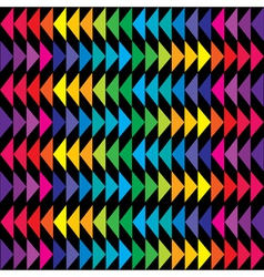 geometric shapes background vector image