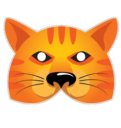 Mask cat vector