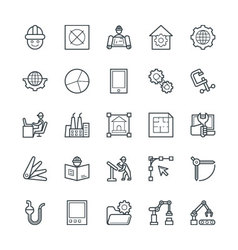 Engineering cool icons 3 vector