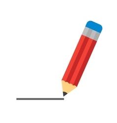 Pencil drawing line vector