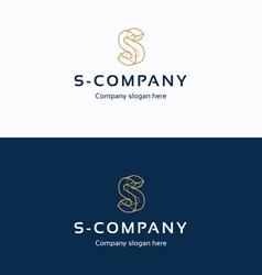 S company logo 02 vector