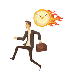 Time management and clock vector