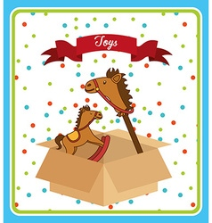 toys box vector image vector image