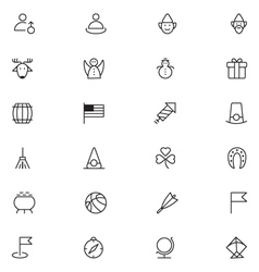 User interface icons 16 vector